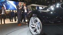 Bugatti Das schwarze Auto