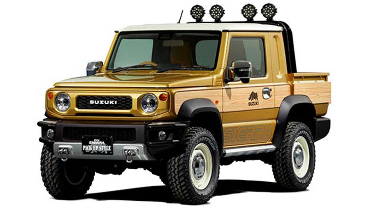 Suzuki Jimny Sierra Pickup Style Konzept