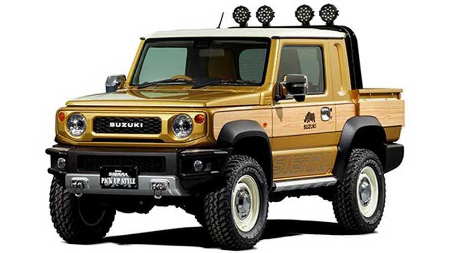 Suzuki bringt Jimny Pickup und Off-Road Concept nach Tokio