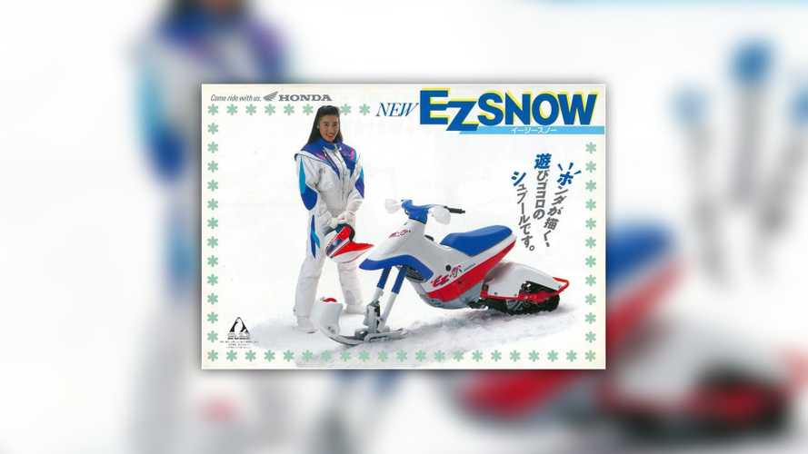 Honda EZ-Snow: For When Bike Is Life But It's Snowy Outside