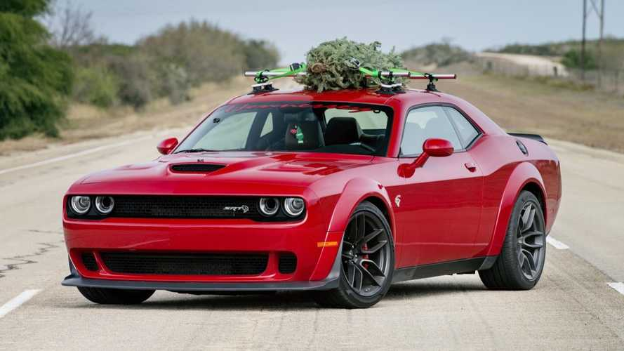 All We Want For Christmas Are These Cars Parked Under The Tree