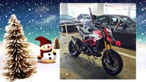 Rudolph Red Nosed Motorcycle - 6 pictures