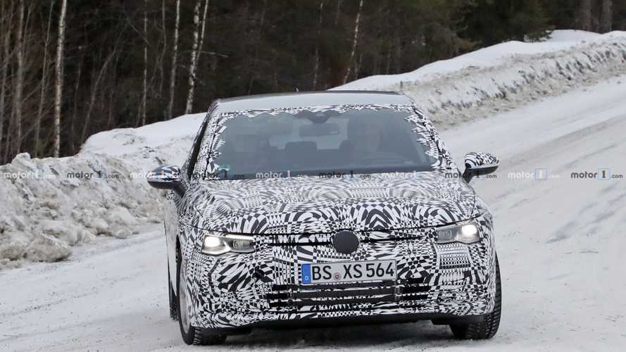 2020 VW Golf new spy photos
