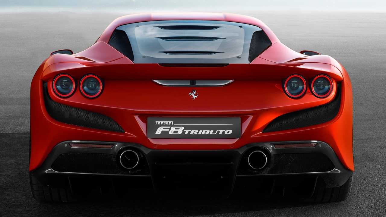 Ferrari F8 rear