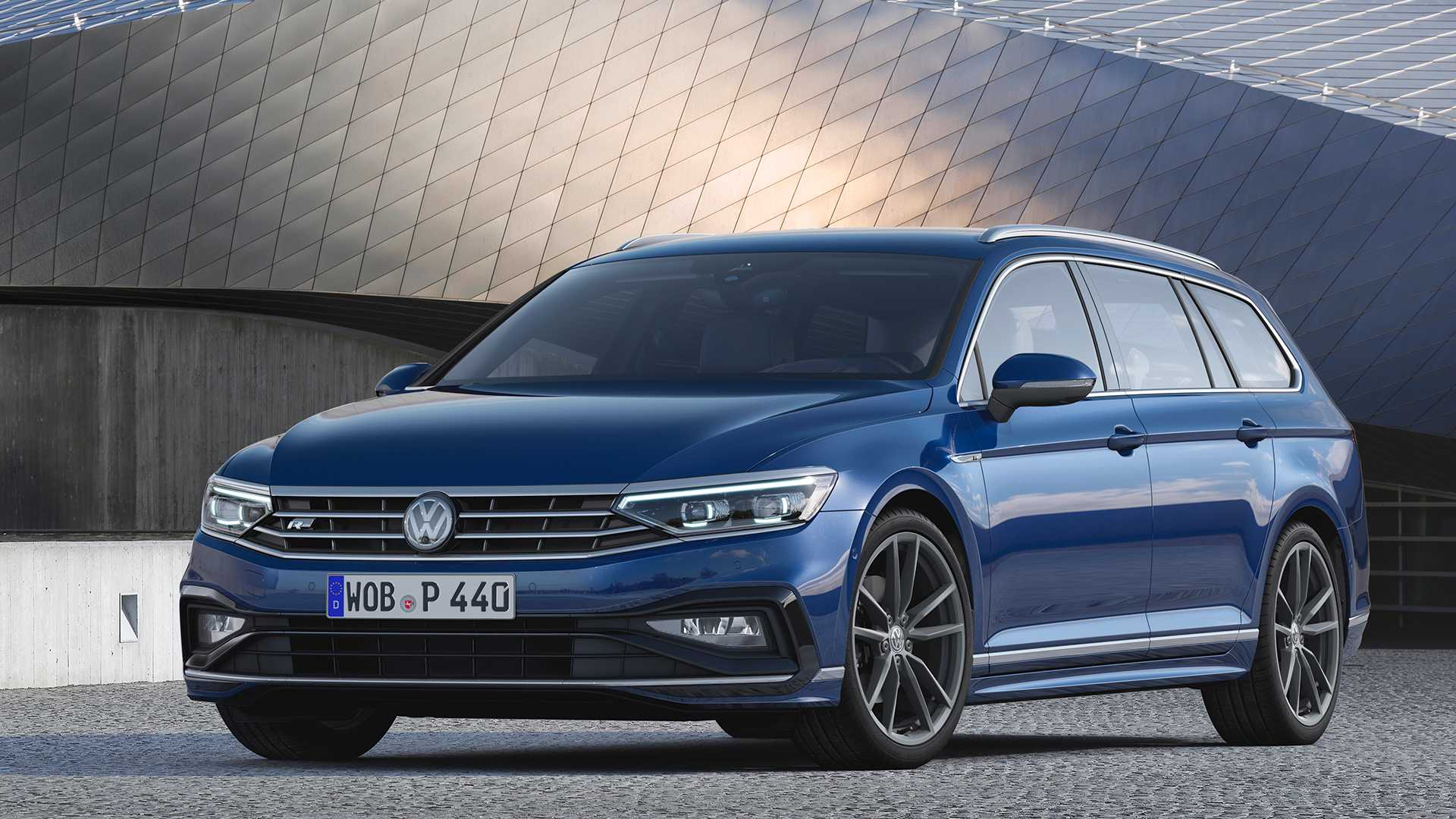 Europe's 2019 VW Passat Shows It All In Walkaround Video