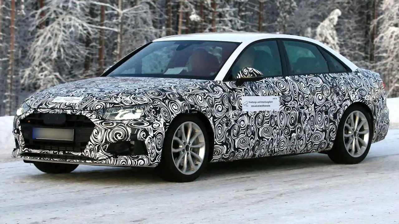 Audi A4 restylée photos espion