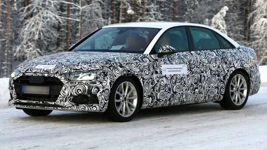 Audi A4 spy shots