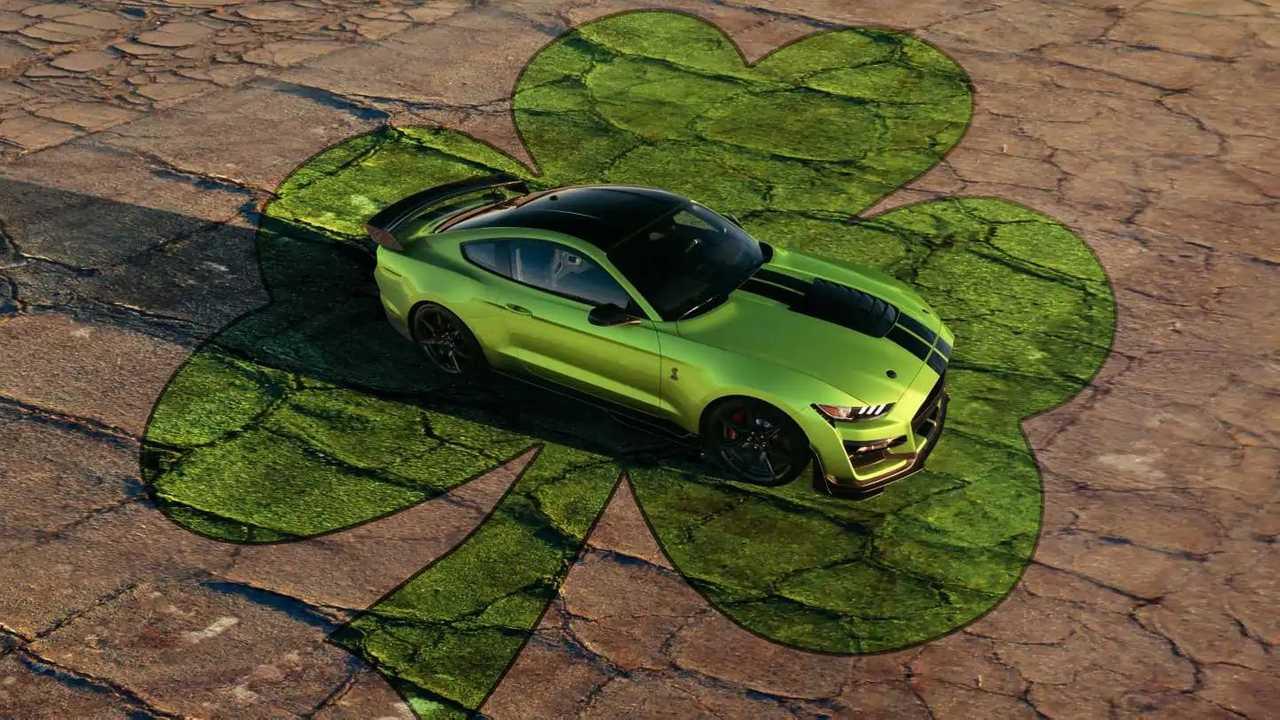 Ford Shelby GT500 Grabber Citron Vert