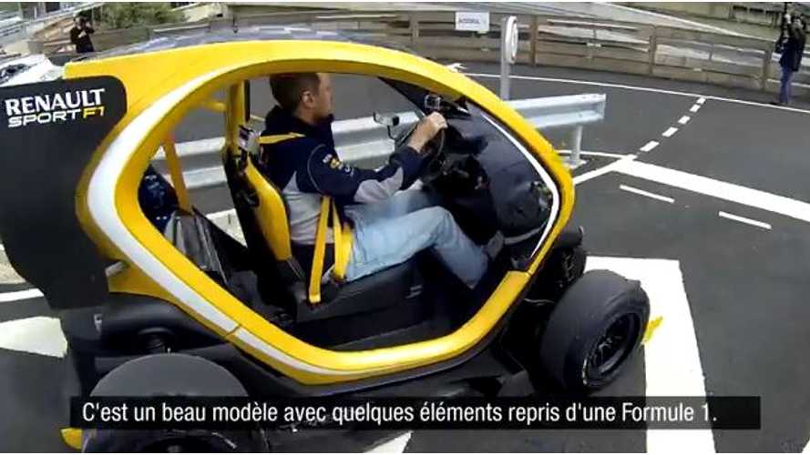 Video: Sebastian Vettel Drives Twizy Renault Sport F1