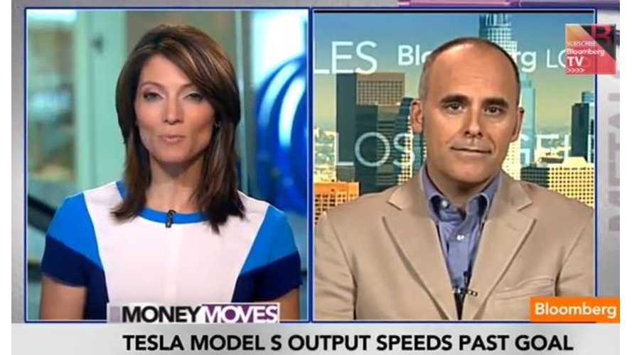 Video: Bloomberg Discusses Tesla Model S Production Ramp Up