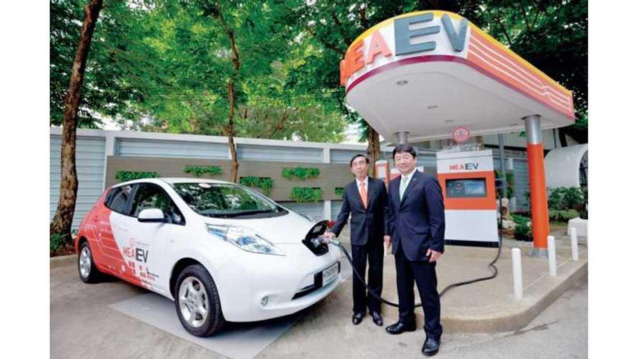 Nissan LEAF Enters Thailand For 1-Year Trial