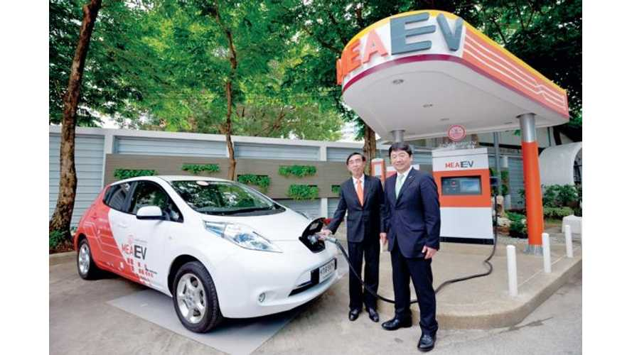 Nissan LEAF Enters Thailand For 1-Year Trial