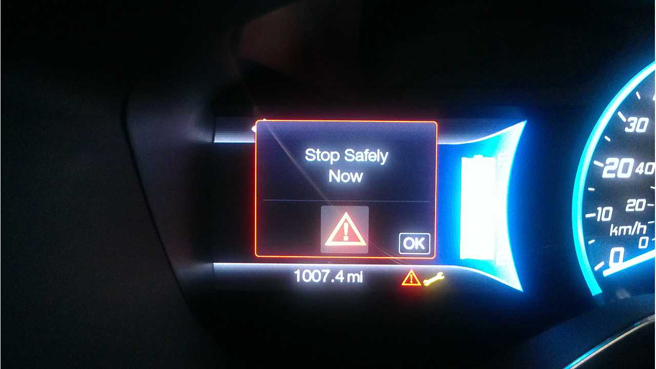 Ford Focus Electric: Shutdown Problems While Driving Gets Official As NHSTA Investigates