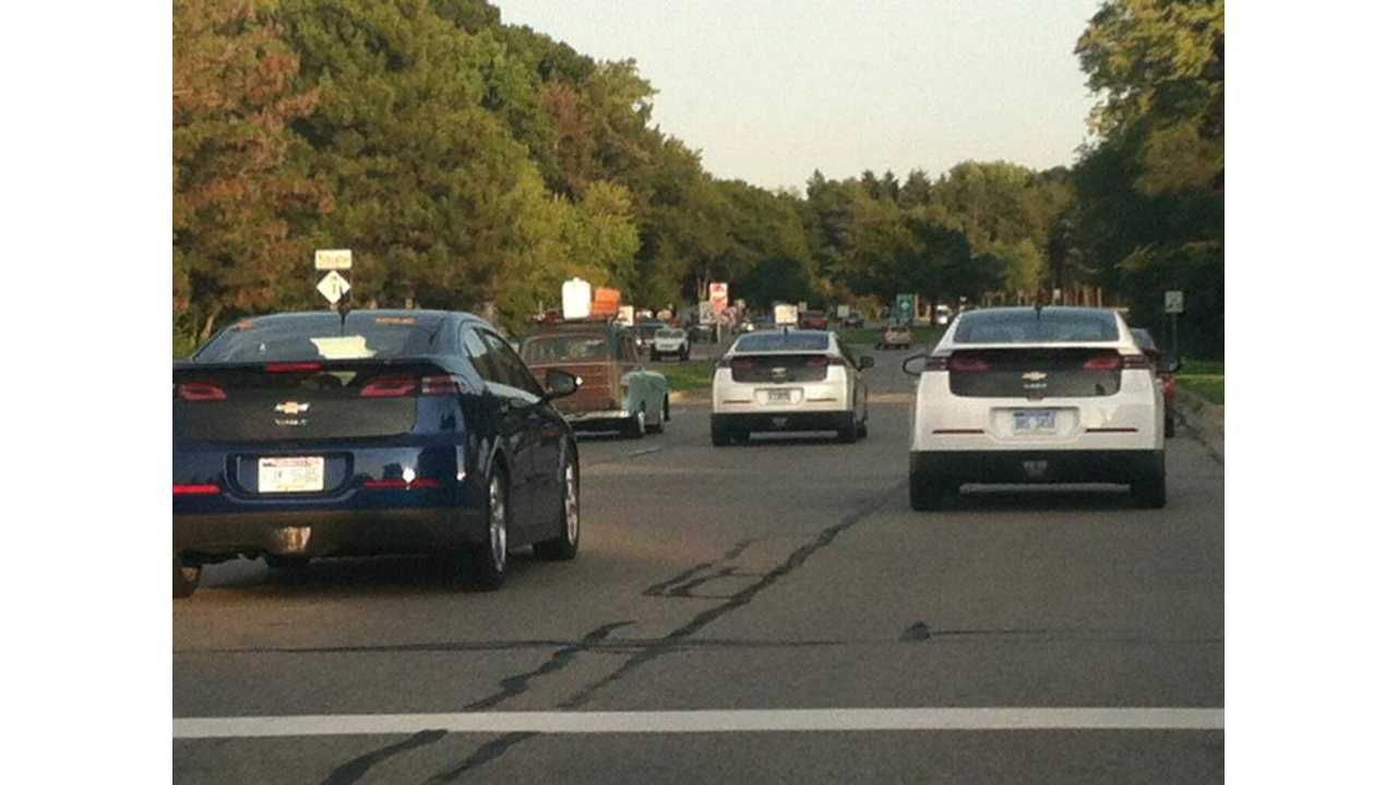 Chevy Volts to Hit Woodward for Silent Dream Cruise on August 15; Sign Up Now