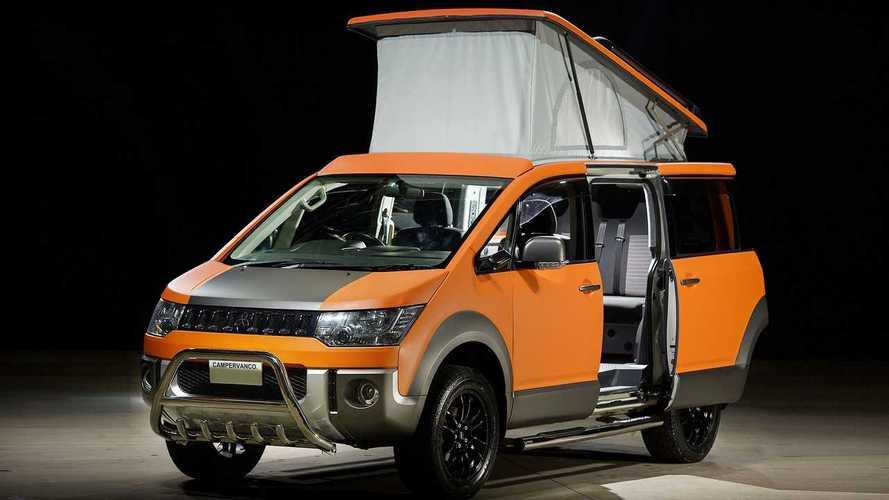 Mitsubishi Delica D:5 Terrain camper