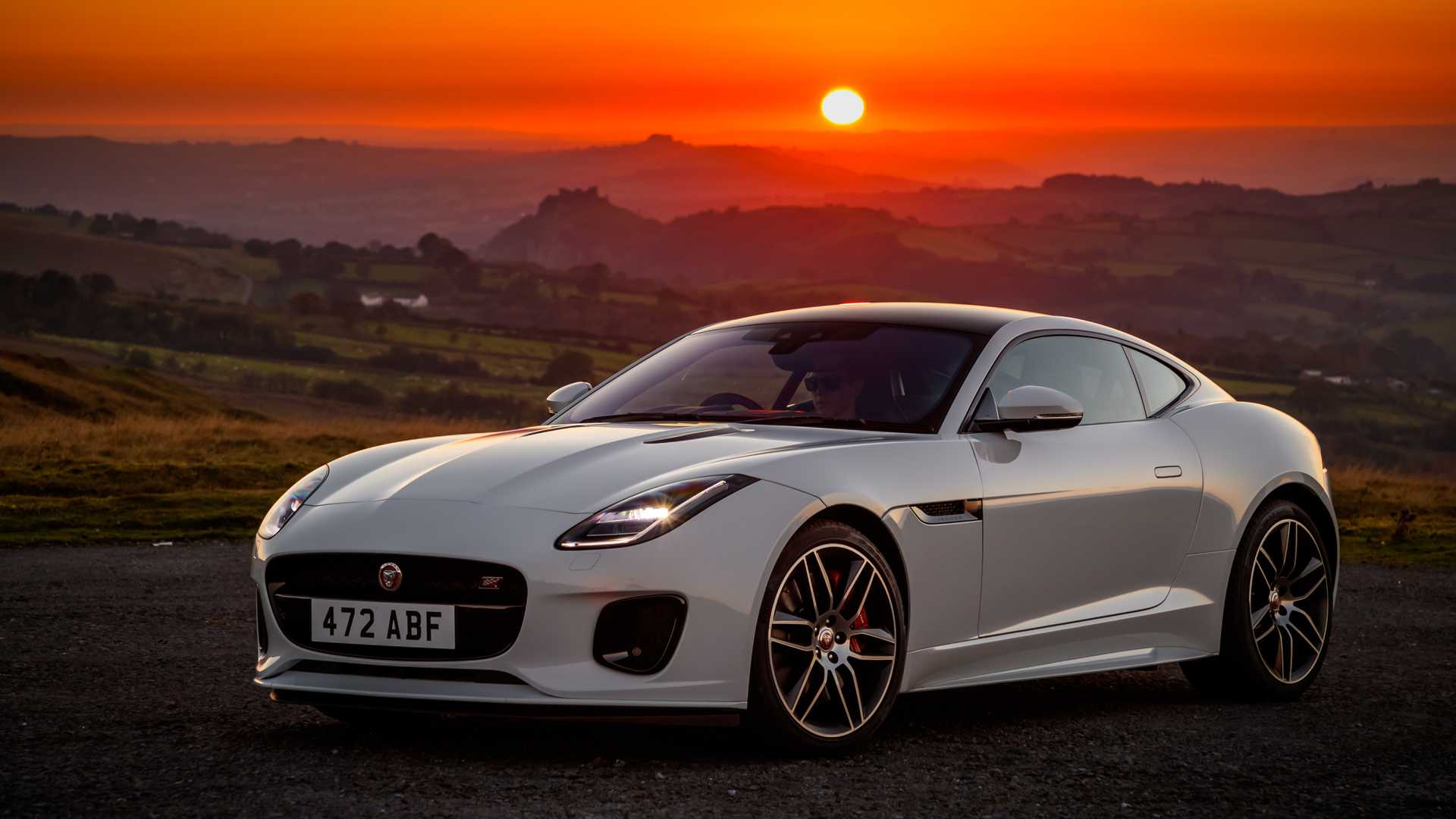 Jaguar F Type Checkered Flag Limited Edition Likes Black Trim