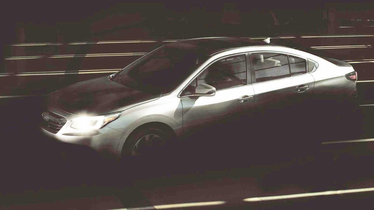 Subaru Legacy Exterior Teaser Lightened