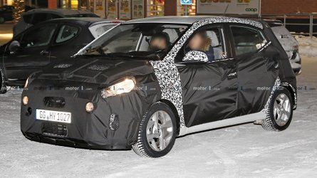 2020 Hyundai i10 Makes Spy Photo Debut