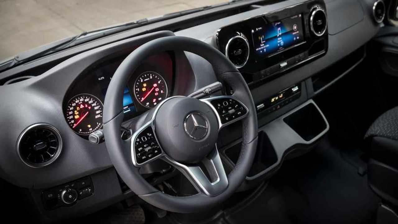 Mercedes MBUX e Sprinter