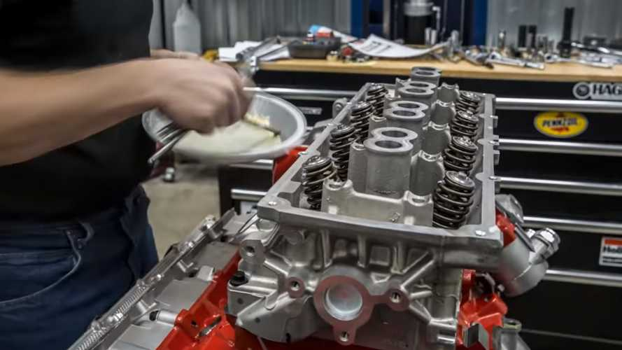 Watch Timelapse Video Of 840-HP Dodge Demon Engine Build