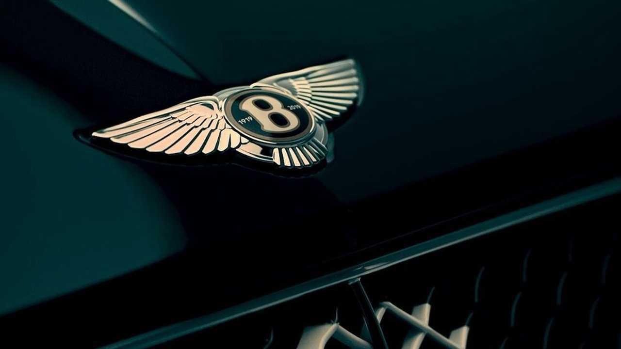 Bentley'in 100'üncü yaşını kutlayacak gizemli otomobil