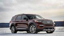 Ford Explorer auf der Detroit Motor Show vorgestellt