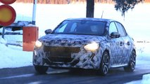 Nuova Peugeot 208, le spy photo