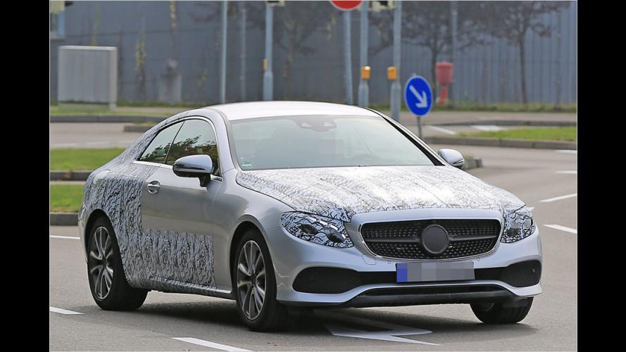 Erwischt: Mercedes E-Klasse Coupé