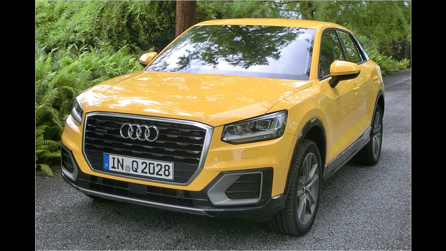 "Audi Q2 (2016) im Test: Wie ""taggable"" ist das Crossover?"