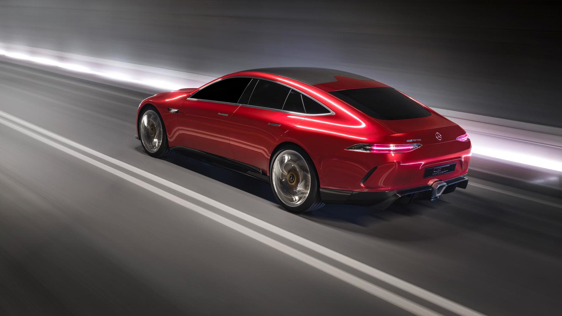 Mercedes-AMG GT73 Hybrid deve chegar em 2020 com mais de 800 cv Mercedes-amg-gt-concept