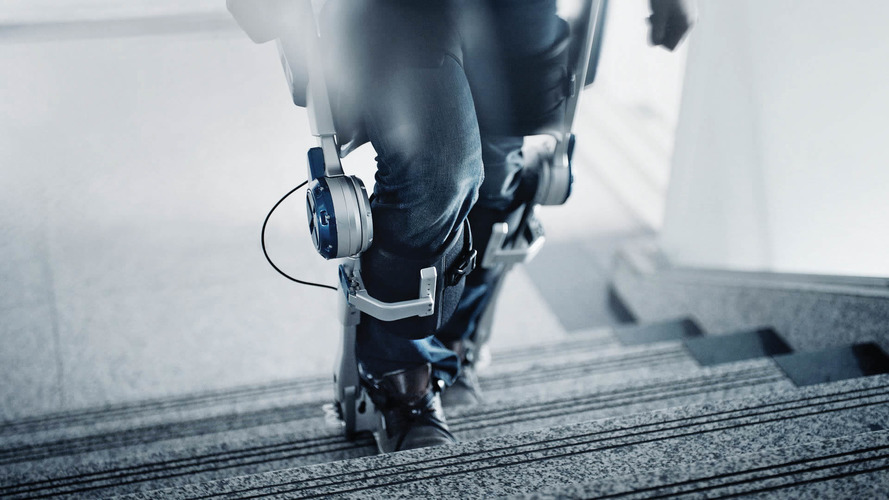 Hyundai wearable robot tech