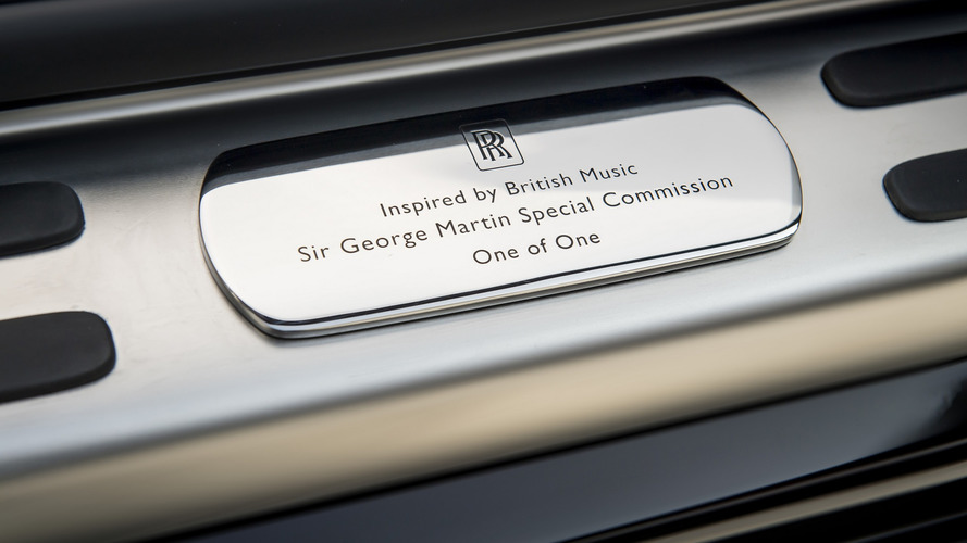 2017 Rolls-Royce Wraith Inspired by Music - Sir George Martin