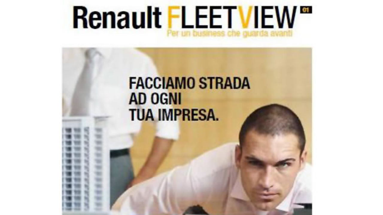 Nasce Renault Fleet View