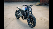 Scrambler-Bike im neuen Look