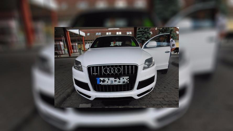 Körözött Audi akadt fenn a csanádpalotai határon