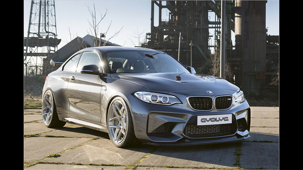 BMW M2 GTS von Evolve Automotive und Carbonfiber Dynamics