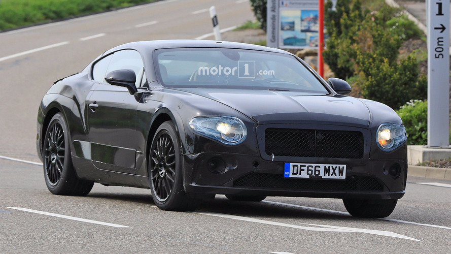 2018 Bentley Continental GT Kémfotók
