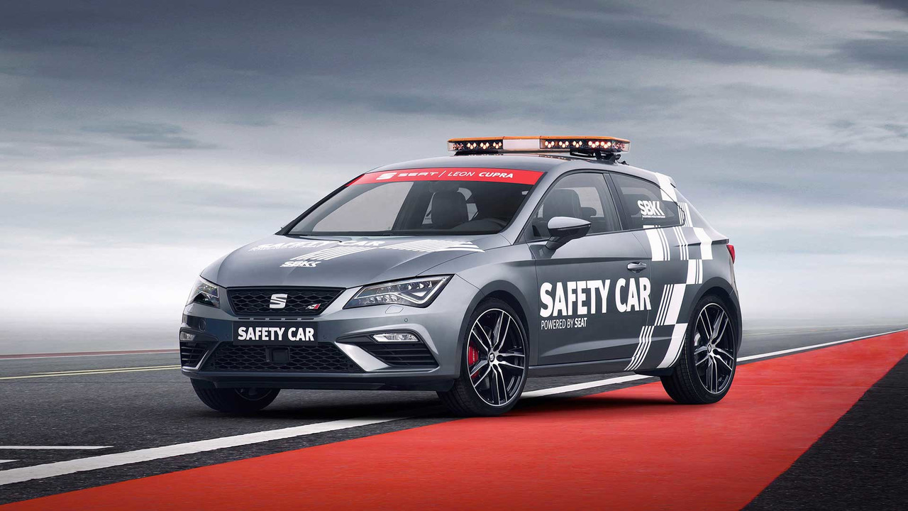 SEAT León CUPRA Safety Car WorldSBK