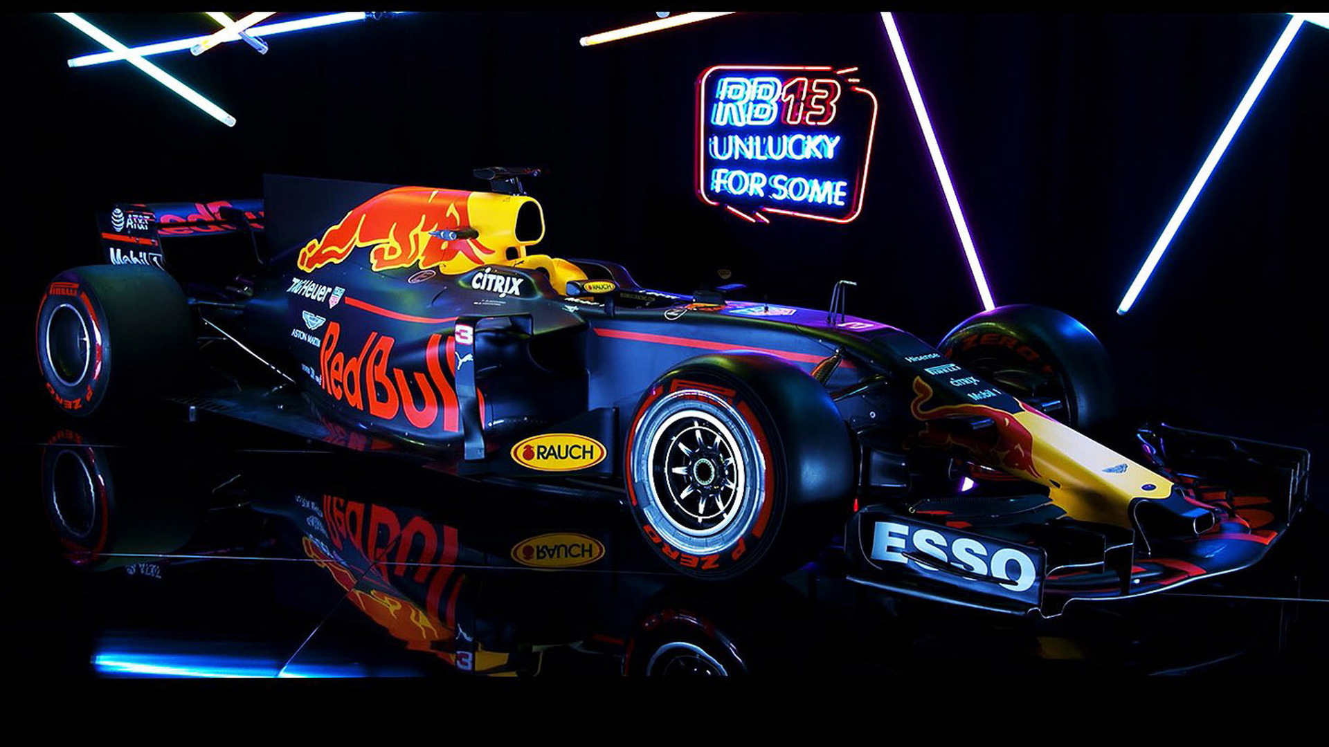 Red Bull Launches Its 2017 F1 Car The Rb13