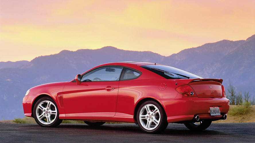 Hyundai Tiburon Second Generation