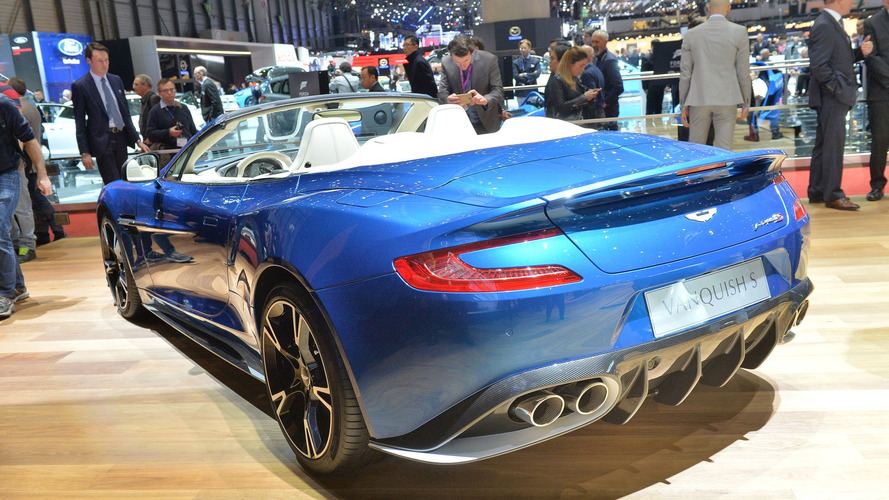 Aston Martin Vanquish S Volante Beautifies Geneva Motor Show - Aston martin vanquish s