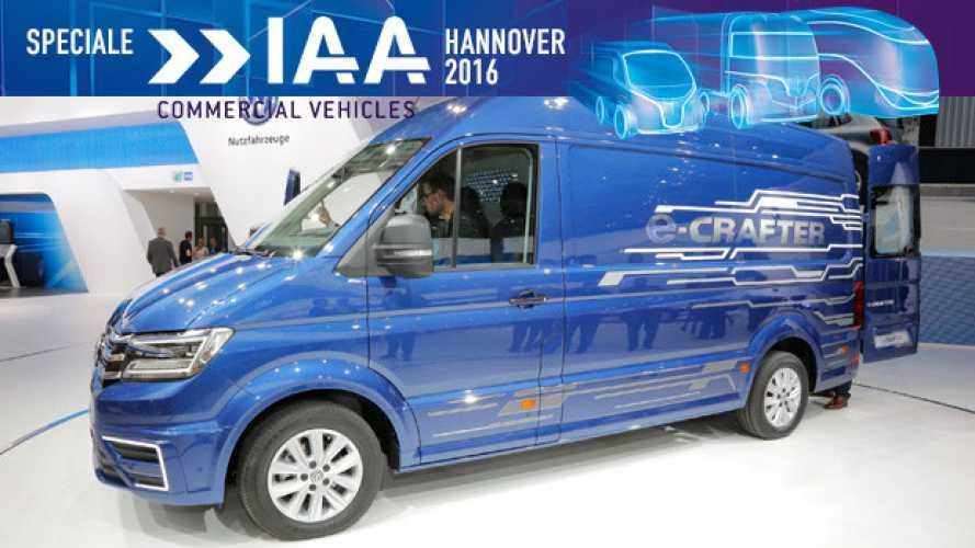 IAA Hannover 2016, Volkswagen lancia e-Crafter