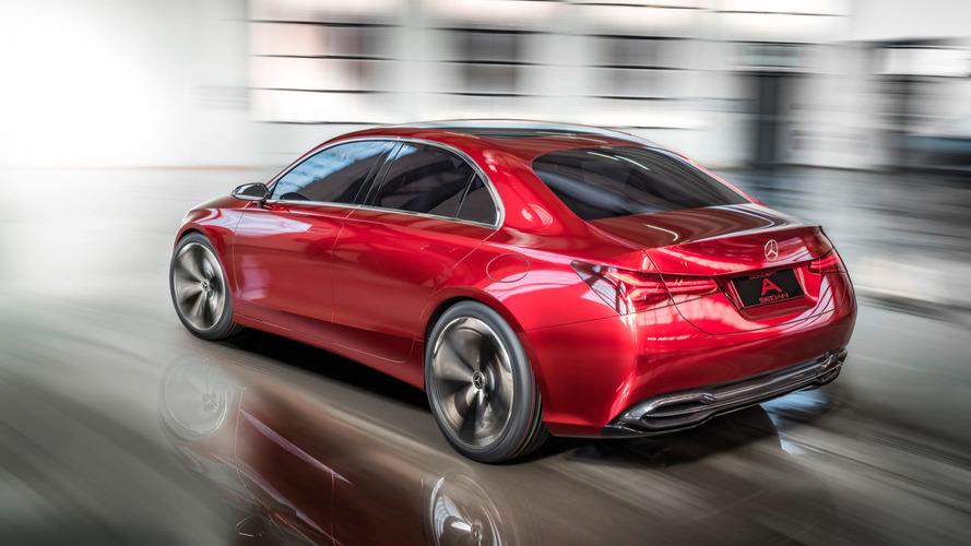 Shanghai 2017 - Mercedes présente un concept de Classe A berline