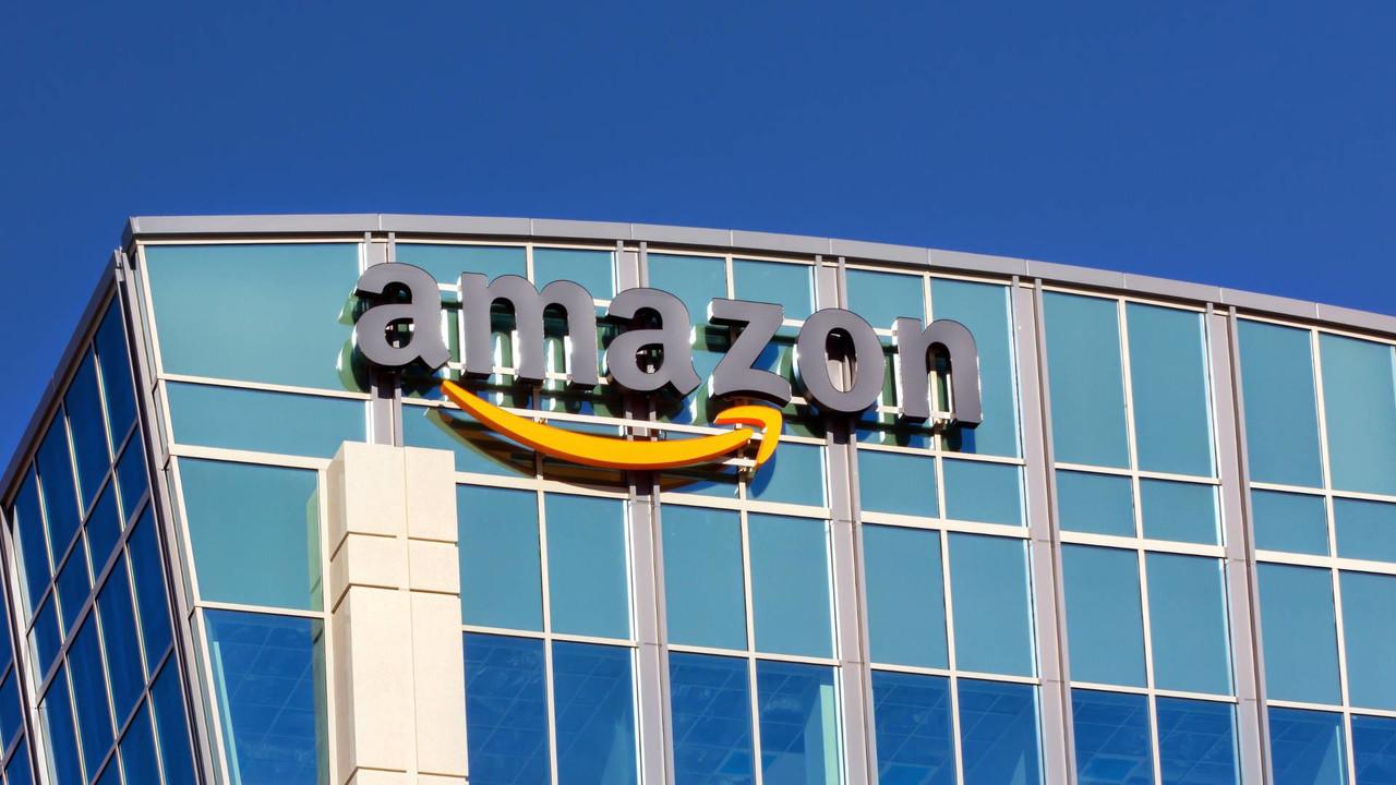 Amazon building in Santa Clara California