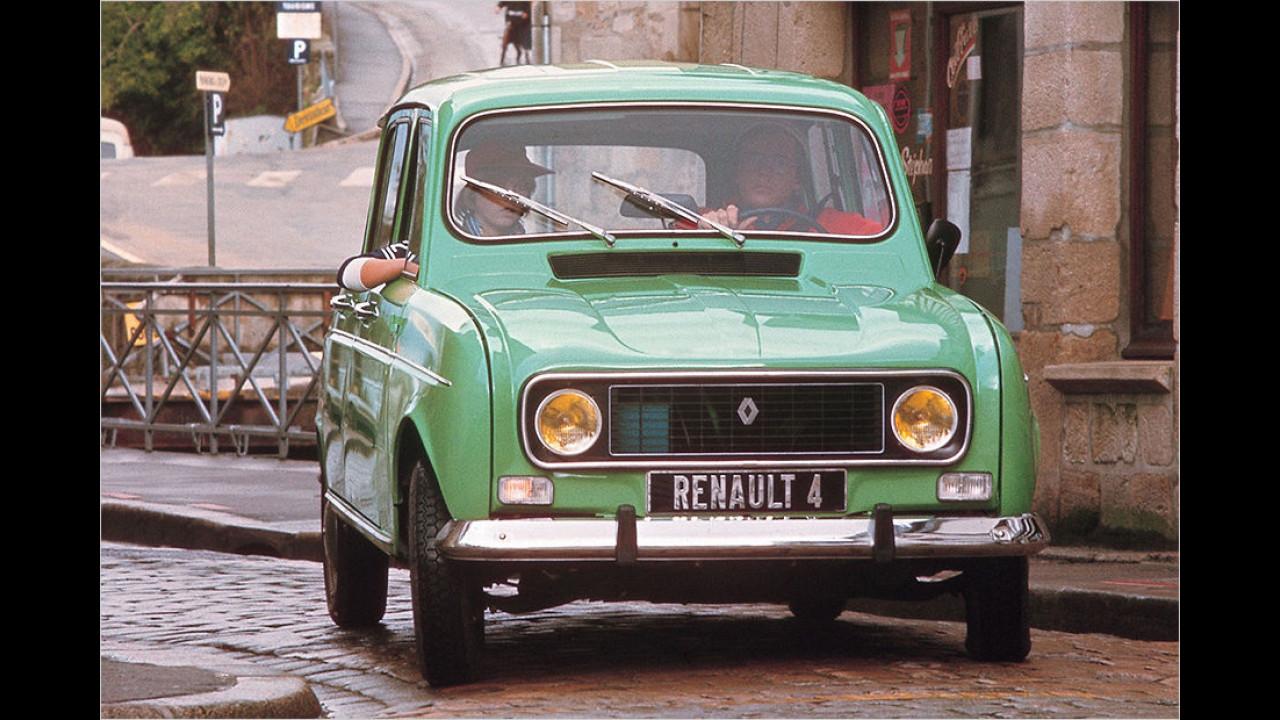 Platz sechs seit 1999: Renault R4
