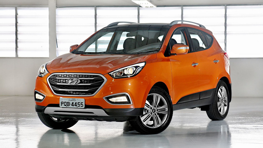 Vendas de SUVs médios em março: a derrocada do Hyundai ix35