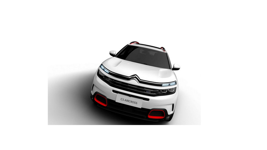 Citroen C5 Aircross leaked photos