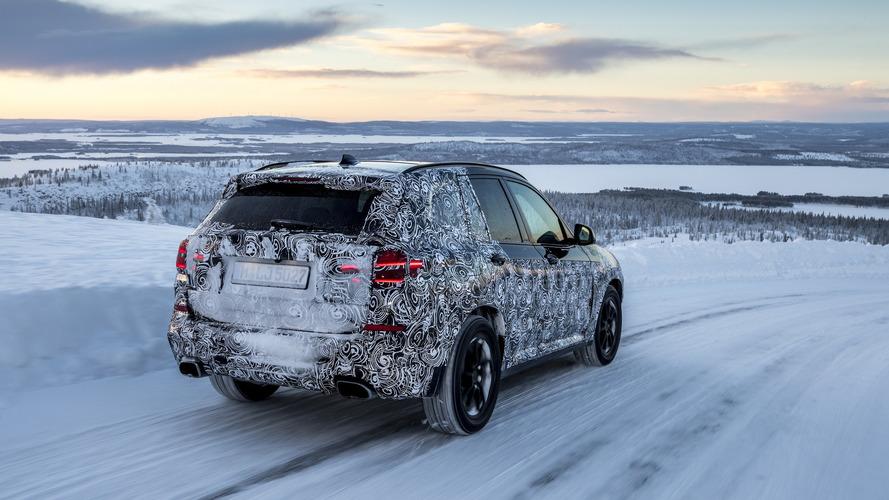 BMW X3 2018, fotos espia