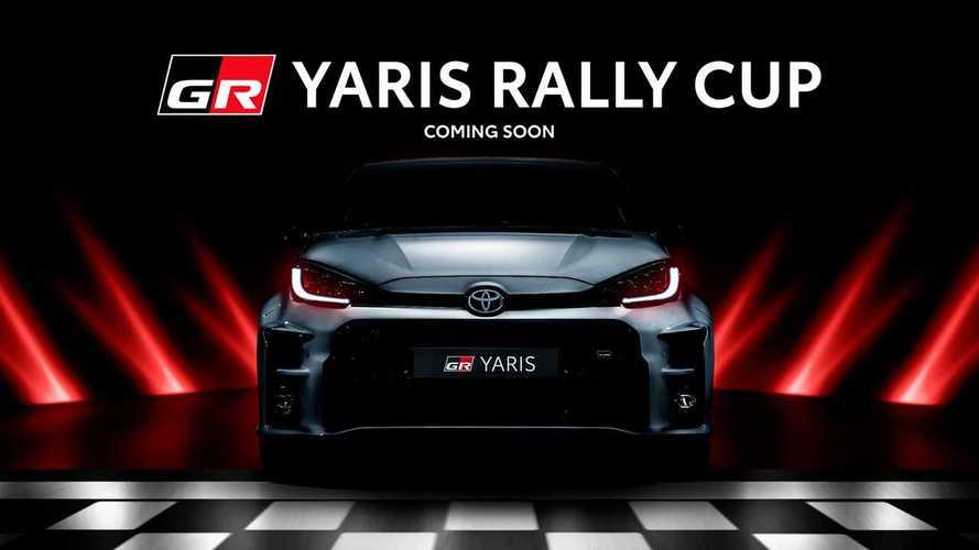 La Toyota GR Yaris inizia la sua avventura italiana nei rally