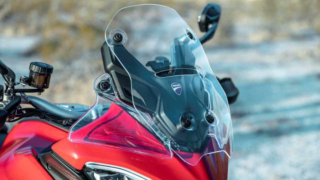 2021 Ducati Multistrada V4 S - Windscreen